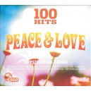 100 HITS  PEACE & LOVE (Various CD)